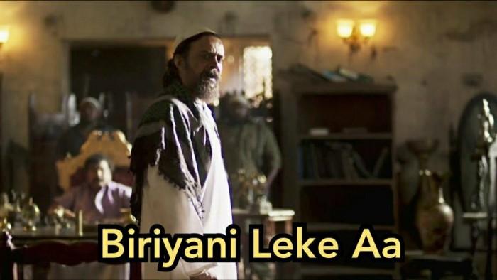 biryani leke aa kgf meme template