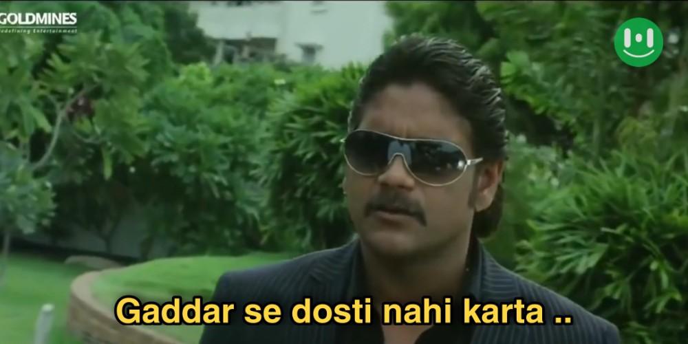 gaddar se dosti nahi karta don no 1 meme template