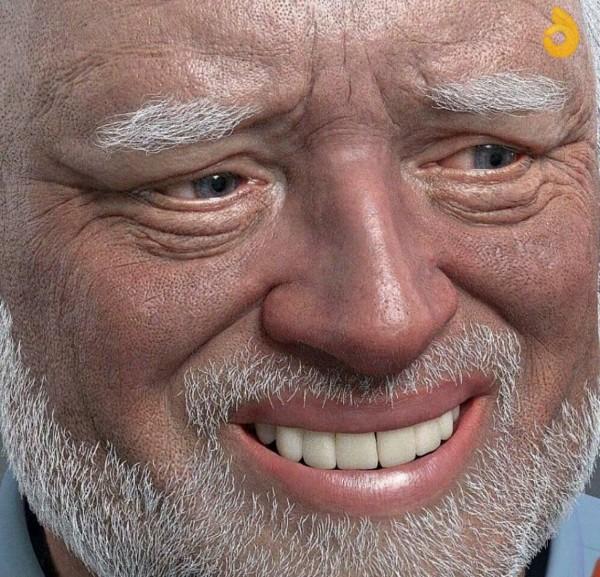 hide the pain guy meme template