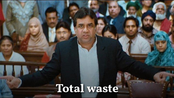 total waste Paresh Rawal oh my god meme template