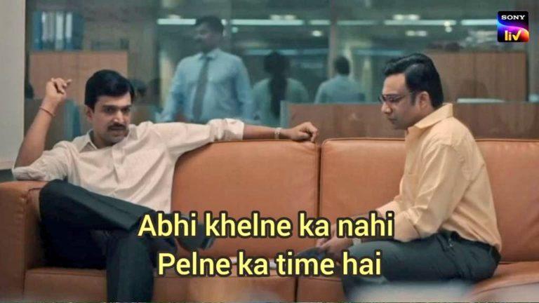 abhi khelne ka nahi pelne ka time nahi hai meme template scam