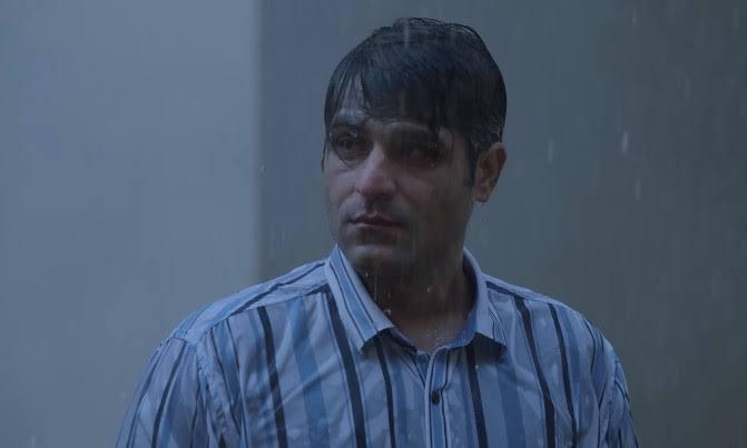 Sandeep bhaiya in rain meme template