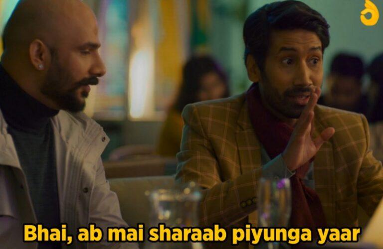 bhai ab mein sharab piyunga yar tvf aspirant meme template