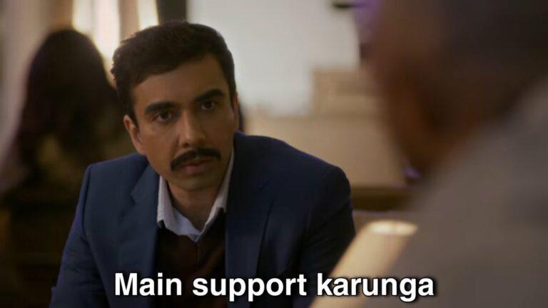 mein support karunga aspirant meme template