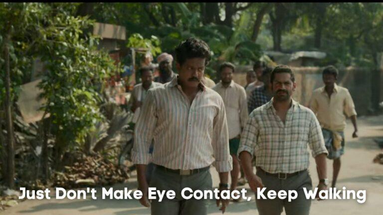 just dont make eye contact keep walking family man season 2 template