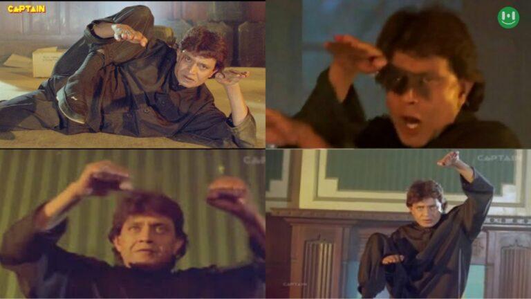 mithun chakravarti doing martial art meme template